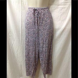 Women's size XXL LIZ CLAIBORNE cropped lounge pant